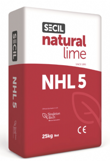 Singleton Birch Natural Hydraulic Lime NHL 5 (25kg)